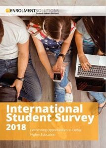 international student survey 2018 - student enrolment