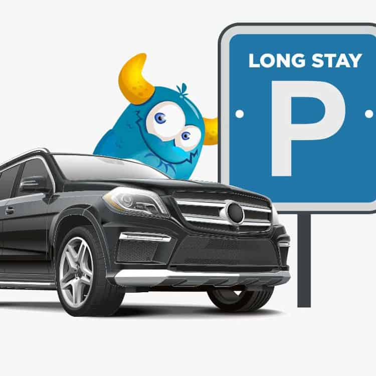 website development for monster airport parking