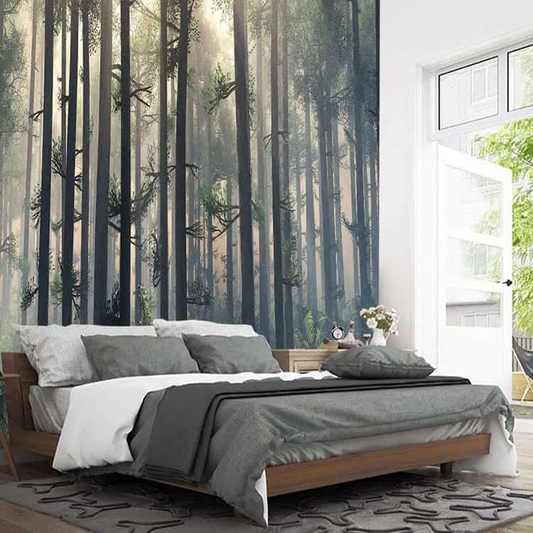 ecommerce website design for wallpaper murals